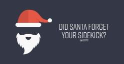 After Christmas advertisement for Gametime Sidekicks