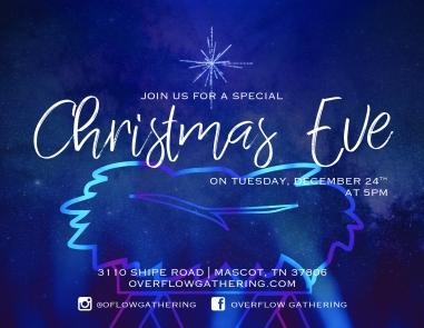 Christmas Eve card for 2019